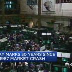 Markets mark 30th anniversary of 'Black Monday' as Dow cr...