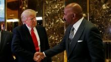 Trump speaks with entertainer Steve Harvey about helping U.S. cities
