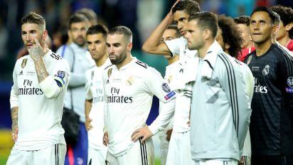 Horror start for Madrid's life without Ronaldo