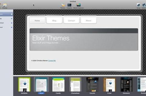 Elixir offers new RapidWeaver theme and special bundle