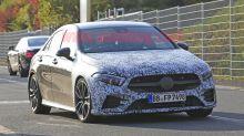 2019 Mercedes-AMG A 35 sedan spied in Germany