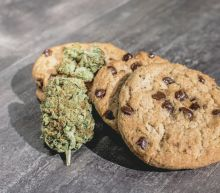 Enterprising Girl Guide sells cookies to Canadians waiting in line at cannabis store