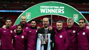 Guardiola eyes treble after 'outstanding' EFL Cup win