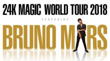Grammy Award Winner and Multi-Platinum Selling Superstar Bruno Mars Bringing 24k Magic World Tour 2018 to China