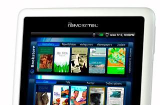 Pandigital intros 7-inch Novel e-reader, nabs access to B&N eBookstore