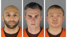 George Floyd death: Three former Minneapolis police officers charged in killing due in court