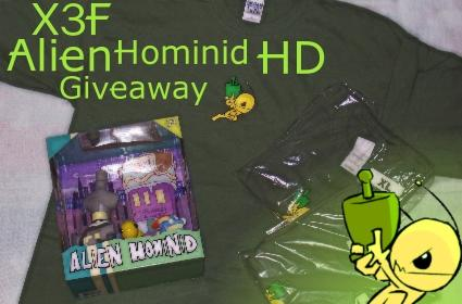 Fanswag: Alien Hominid HD Giveaway the end