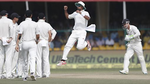 India in control at stumps on day 4 vs New Zealand