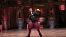 'Hamilton' star on why Broadway is blue-collar work