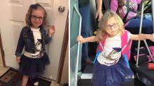 L'effetto della scuola sui bambini: le esilaranti foto prima e dopo