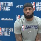 LeBron James not surprised at Breonna Taylor grand jury decision.