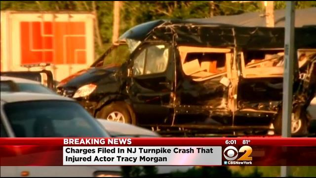 Actor, Comedian Tracy Morgan Injured In New Jersey Turnpike Crash; Truck Driver Charged