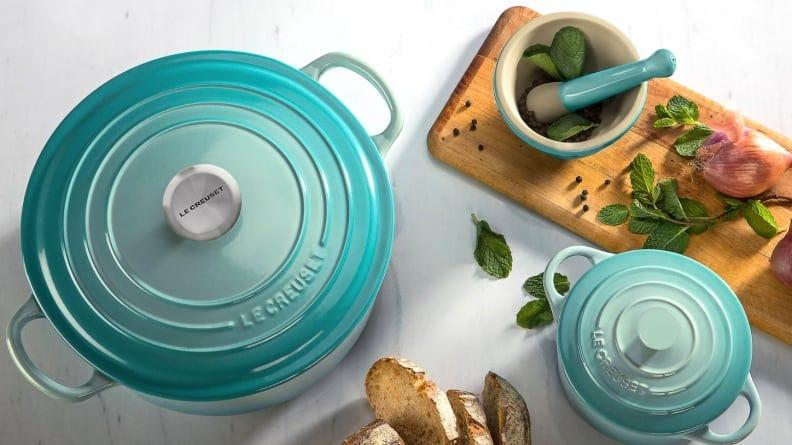 There's a major Le Creuset sale happening right now—and it's up to half off