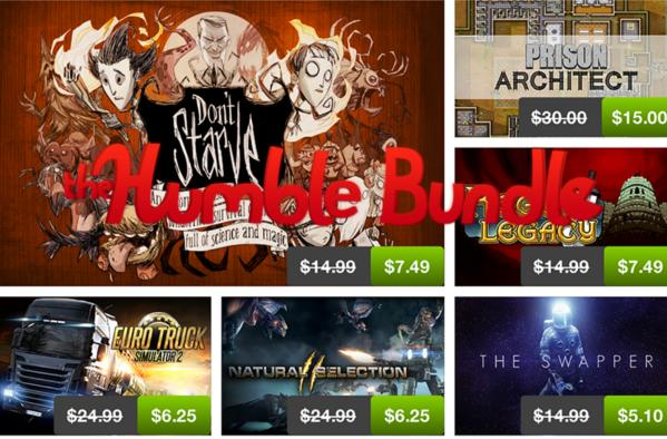 Humble Store launches, skips the Bundles and flash sales