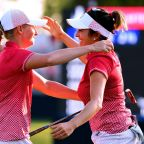 US lead Europe 5 1/2 to 2 1/2 in Solheim Cup