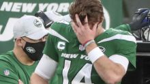 Darnold a dud in return as Jets stall again, fall to 0-11