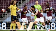 Mahmoud Trezeguet downs Arsenal to lift Aston Villa out of relegation zone