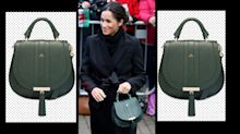 Meghan Markle's green handbag is on sale - and still in stock