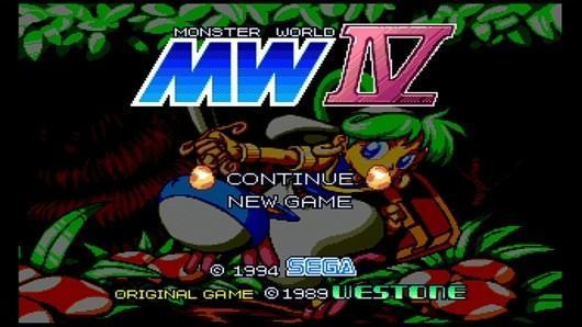 Localized Monster World IV leads newest PSN/Virtual Console 'Sega Vintage Collection'