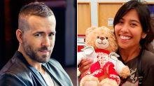 Devuelven el osito de peluche después de que Ryan Reynolds ofreciera una recompensa
