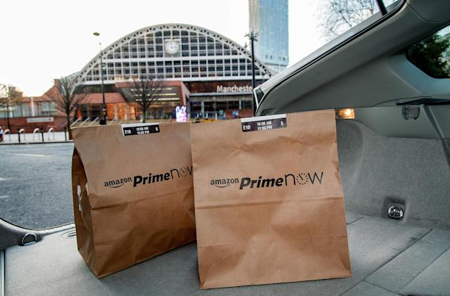 Amazon UK brings one-hour Prime Now deliveries to Manchester