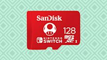 If you have a Nintendo Switch, you'll love this memory-card deal