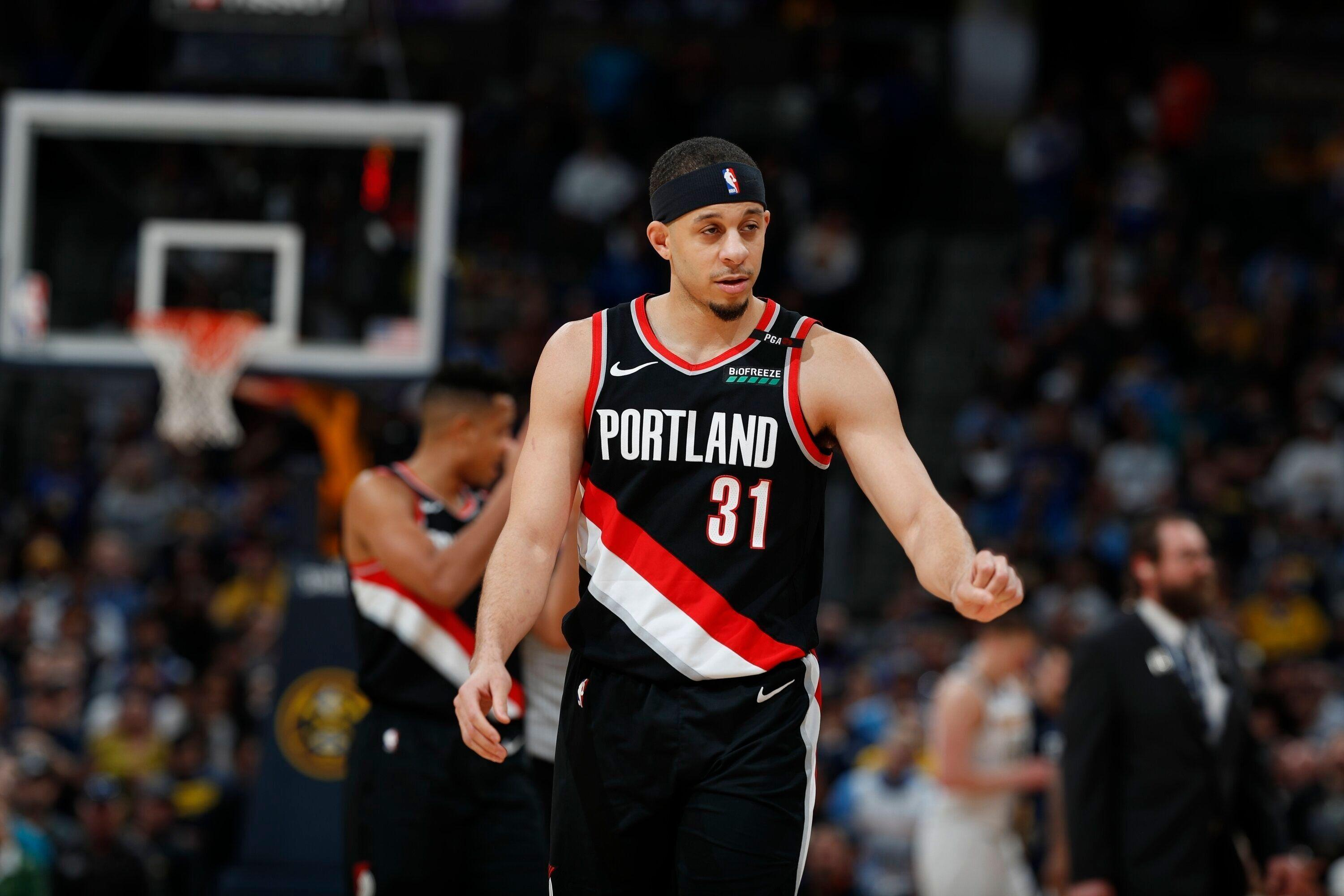 competitive price 2f82f 80fa7 NBA playoffs: Seth Curry says guarding Warriors harder ...