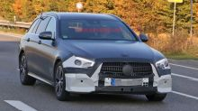 2020 Mercedes-Benz E-Class wagon spied with a facelift