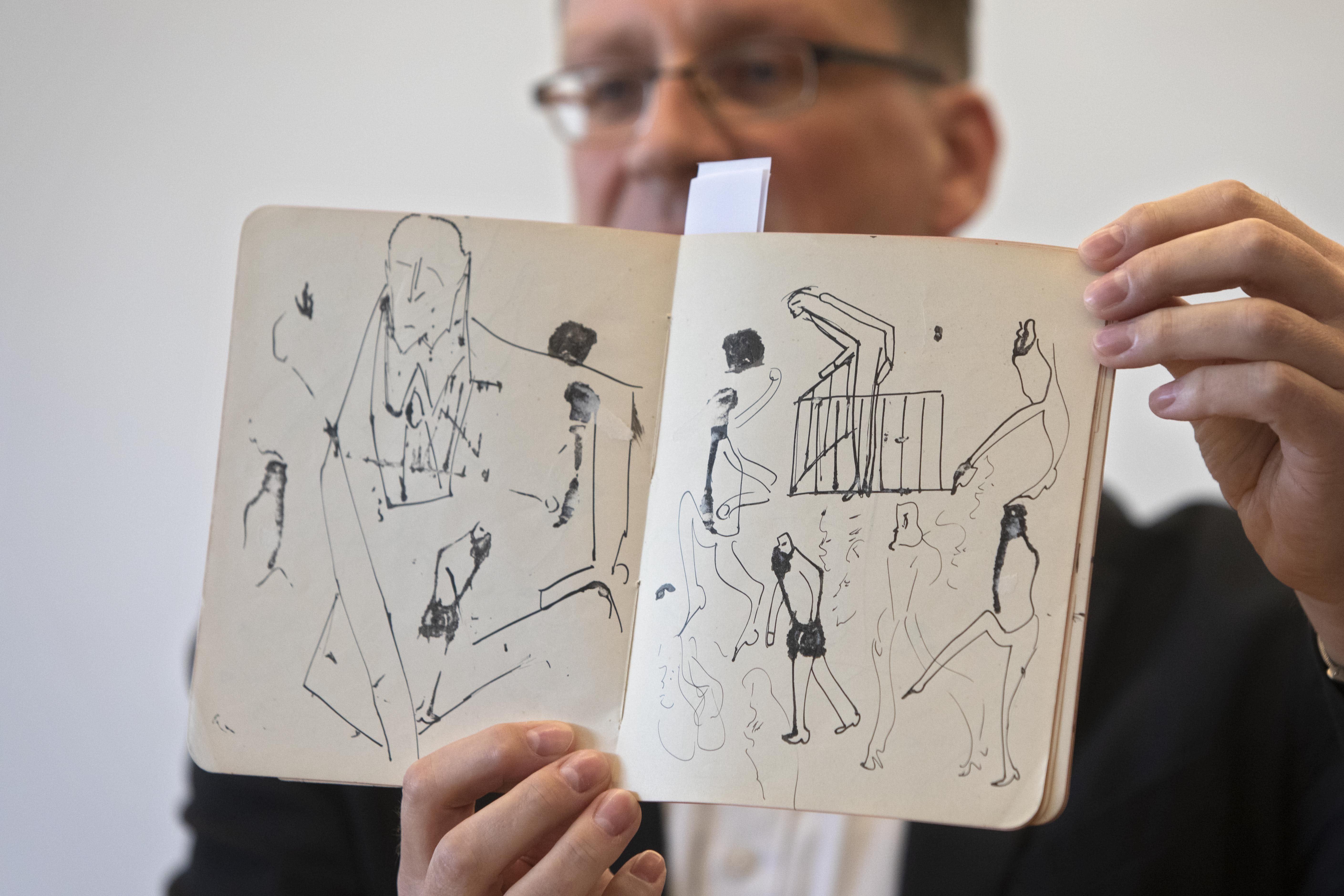 Israeli library displays last batch of obtained Kafka works