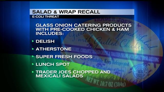 Salad Recalled After E. Coli Outbreak
