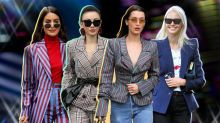 Innovative ways the street style set are wearing blazers in 2018