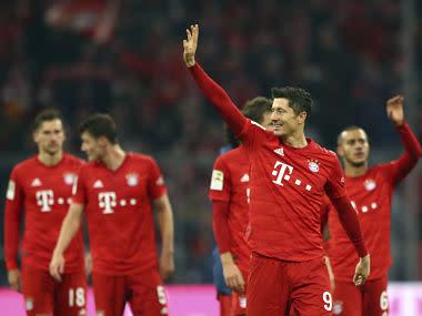 Bundesliga: Robert Lewandowski hits brace as managerless Bayern Munich thrash Borussia Dortmund in Der Klassiker