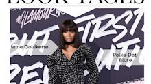 Look des Tages: Naomi Campbell in extravaganter Polka-Dot-Bluse