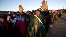 AP PHOTOS: Incan festival pays homage to sun across Andes