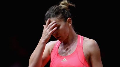 French Open favourite Simona Halep in danger of missing the tournament with an ankle ligament injury