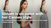 Sonam Kapoor Is Dressed to Kill in Her Cannes Looks