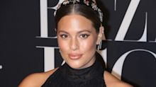 Ashley Graham posts photo of herself giving birth to mark International Women's Day