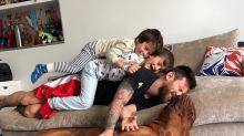 Messi se vuelve viral con estas fotos junto a sus hijos y su enorme mascota