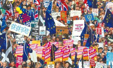 就是差了16票!英首相大挫敗