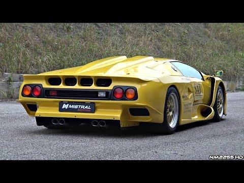 "<p>The GT1 Stradale is <a href=""https://www.roadandtrack.com/car-culture/classic-cars/videos/a33455/the-road-legal-lamborghini-diablo-gt1-is-a-thing/"" rel=""nofollow noopener"" target=""_blank"" data-ylk=""slk:the rarest street-legal Diablo out there"" class=""link rapid-noclick-resp"">the rarest street-legal Diablo out there</a>-just two were built. It's also the most extreme-just look at that bodywork. As you can imagine, it has the V12 bark to match. </p><p><a href=""https://youtu.be/Y6ubbarez-A"" rel=""nofollow noopener"" target=""_blank"" data-ylk=""slk:See the original post on Youtube"" class=""link rapid-noclick-resp"">See the original post on Youtube</a></p>"