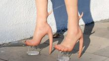 These 'human skin' shoes are seriously dividing opinion