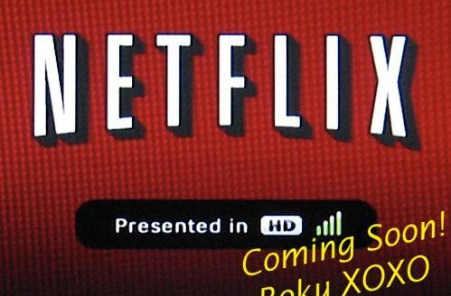 """Roku's Netflix Player handling HD content """"by the end of the year"""""""