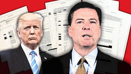 Trump wrongly told Comey he'd never slept in Moscow
