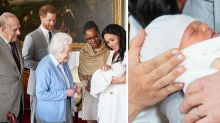 Harry and Meghan introduce baby Archie to the Queen