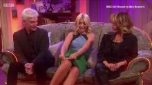 Holly Willoughby flashes her Spanx!