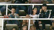 Las fotos de Cristiano Ronaldo y Georgina durante el partido de la Supercopa