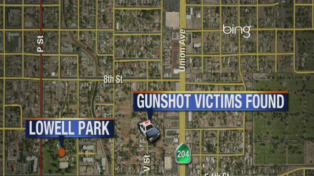 Two teens shot in Central Bakersfield