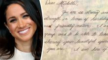 This old note Meghan Markle wrote to a fellow classmate is adorable