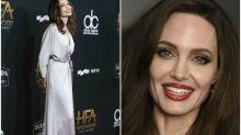 Angelina Jolie recupera la sonrisa en la alfombra roja