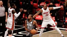 Brooklyn Nets overcome offensive struggles to defeat Miami Heat 98-85